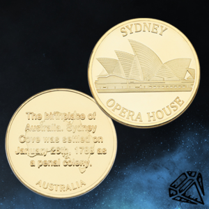 Sidney Opera House Coin