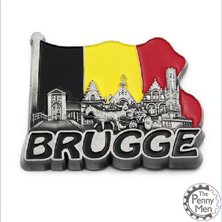 Brugge fridge magnet