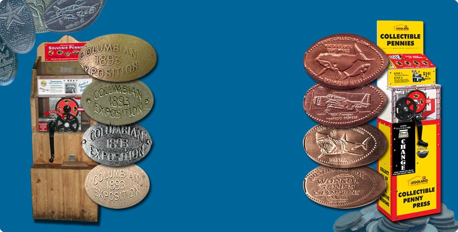 Elongated Penny History