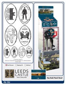Leed Castle penny machine