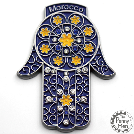 Morocco fridge magnet