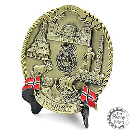 Souvenir Plate Norway