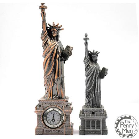 Statue Clock Casting